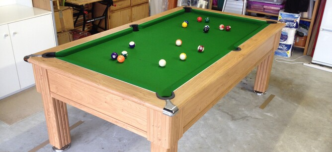 Mypooltable Will A Pool Table Fit In A Double Garage New Zealand - Pool table in garage