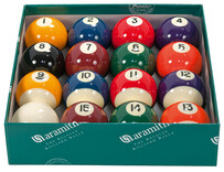 Kelly Pool Balls - Aramith Premier