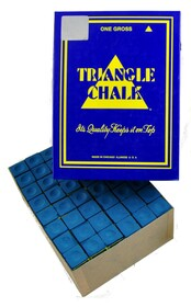 Triangle Chalk - Blue